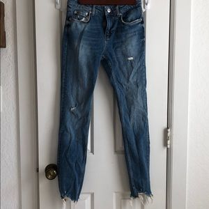 Denim Zara Trendy Jeans